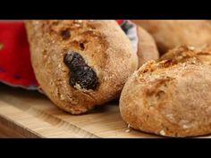 Kuru Domatesli Zeytinli Ekmek/Evde Ekmek Yapımı/ŞEFFAF MUTFAK - YouTube Turkish Snacks, Bread, Mart, Food, Hotels, Tv, Search, Youtube, Brot