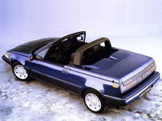 1986 Volvo 480 Turbo Cabrio Prototype Never went into production - such a shame! Saab 900, Suzuki Swift, Citroen Ds, Ford Motor Company, Samara, Volvo Convertible, Porsche 911, Peugeot, Jaguar Type E