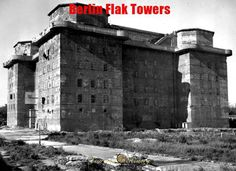 Berlin Flak Towers Mega Constructions of World War II #history | via @learninghistory