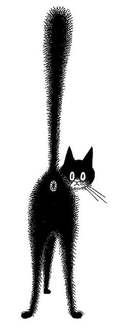 Although not technically a children's book illustrator, I love French illustrator Albert Dubout's famous cats!