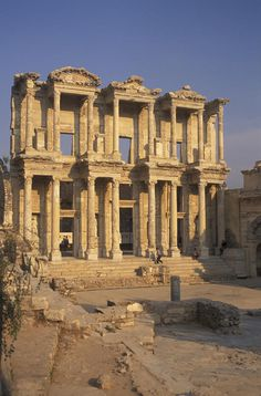 ✮ Library Of Celsius In  Ephesus, Turkey, amazing