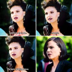 I'm feeling like this is a reference to losing Robin but also the betrayal she feels from Regina.