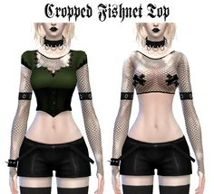 http://ladyhayny.tumblr.com/post/108561999030/cropped-fishnet-top-accessory-download-here