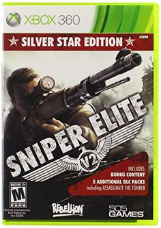 Sniper Elite V2: Silver Star Edition - Xbox 360 505 Games http://www.amazon.com/dp/B00A8306C6/ref=cm_sw_r_pi_dp_QBvfwb1YTA0JC