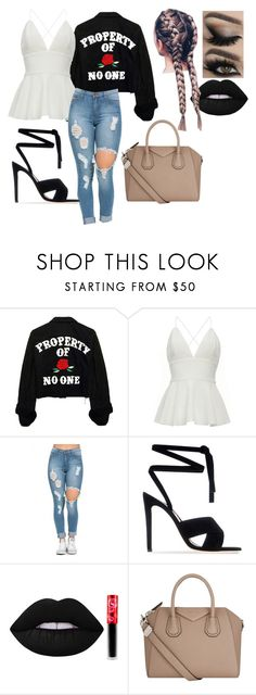 """."" by breemcguire on Polyvore featuring Gianvito Rossi, Lime Crime and Givenchy"