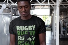 rugby tackle scrum ruck penalty rough Geschenk Männer Premium T-Shirt Rugby, Wicked Ways, Fabric Combinations, Shirt Designs, Forgive, Pray, Mens Tops, Heaven, Sport
