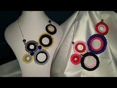 DY#COLLAR# Reciclando aros de botella de plastico - YouTube Crochet Videos, Crochet Necklace, Necklaces, Jewelry, Youtube, Ideas, Handmade Necklaces, Diy Necklace, Stud Earrings