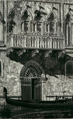 "John Taylor Arms (American, 1887-1953), ""The Balcony (Venetian Gateway),"" 1931."