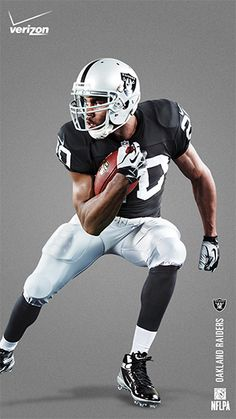 Dedication comes in silver and black. Show your love for Darren McFadden  and the Oakland. Futebol AmericanoTimes ... b5e0fc5ee8597