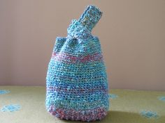 japanese crochet knot bag... btw... can also be done by sewing ... very cute and useful small bag... on revelry...