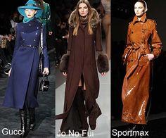 More long coats. The Sportsmax coat is a stunner. I love long coats.