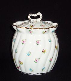 Vintage Godinger, Vintage Biscuit Jar, Vintage Canister, Biscuit Jar, Godinger, Canister, Glass Biscuit Jar, Ceramic Biscuit Jar, Ceramics.  via Etsy.