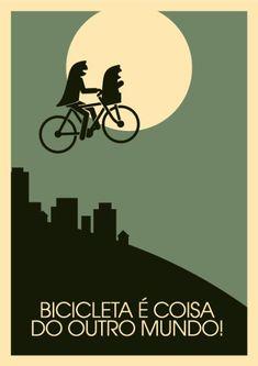 Bicicleta é coisa de outro mundo.