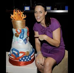 Amanda Beards Olympic themed cake www.gimmesomesugarLV.com
