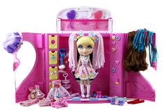 NEW CUTIE POPS DECORATION STATION DOLL CASE