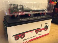 Atkinson Borderer Flatbed trailor  My latest addition from Atlas collections, from the time before Eddie started naming his lorries