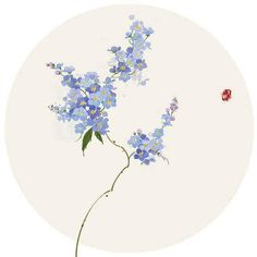 Chinese Painting, Chinese Art, Wall Stickers Vines, House Of Flying Daggers, Stock Background, Blue And White Vase, Tinta China, Traditional Artwork, Medium Art