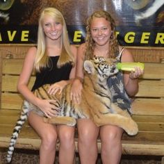 Girls holding baby tiger at T. / Preservation Station in Barefoot Landing, North Myrtle Beach, South Carolina Myrtle Beach Boardwalk, Myrtle Beach Wedding, Myrtle Beach Vacation, North Myrtle Beach, Beach Trip, Vacation Trips, Vacations, Tigers Myrtle Beach, Barefoot Landing