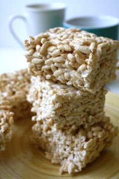 Vegan Rice Krispie recipe using Dandies
