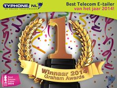 Winners! Wij zijn Best Telecom E-tailer van 2014