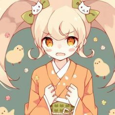A lot of people I know hate Hiyoko and it makes me sad,,, I love this angry girl