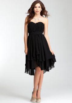 bebe Pleated Strapless Layer Skirt Dress -rami Kashou Bebe Bridal Blk-6 bebe, http://www.amazon.com/dp/B009DMG4WE/ref=cm_sw_r_pi_dp_2iEFqb0Z42K07