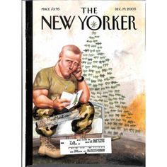 Cover Print of New Yorker, December 19 2005 | $6.60