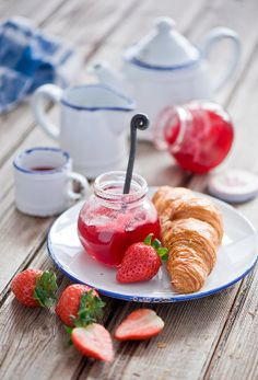 I want to go to go to Paris and have a classic French breakfast! Ooh la la!