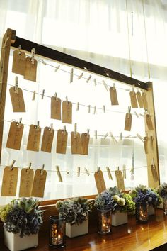 Medium Escort Card Holder Perfect for by TreehouseWoodDesigns