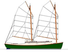 Peep Hen with Junk Rig Sea Bright, Best Boats, Boat Interior, Charter Boat, Sailing Ships, Sailing Yachts, Boat Design, Power Boats, Boat Building