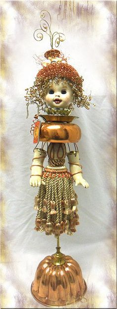 coppertonebaby1 by Jazzie Menagerie, via Flickr