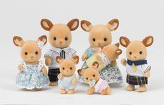 Calico Critters...these are awesome for family constellation activities.