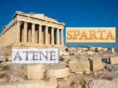 The acropolis and parthenon in Athens, Greece Places Around The World, Oh The Places You'll Go, Great Places, Beautiful Places, Beautiful Buildings, Tourist Places, Tourist Spots, Places To Travel, Athens Acropolis