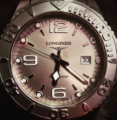 #longines #hydroconquest #wristwatch #diver #1000ft #800m #swissmade #huaweip6 #mylongines #6 #9 #12 #waterresistant #this_is_bruno @this_is_bruno