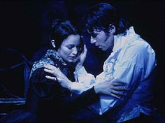 Tony nominee Marla Schaffel and James Barbour in JANE EYRE, my favorite Broadway musical.