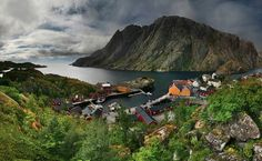 Норвежская деревня