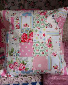 Patchwork cushion I've made
