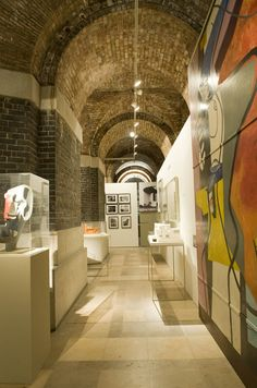 Le Corbusier exhibition in The Crypt