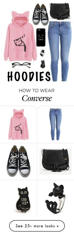 """Untitled #938"" by o-p-backe on Polyvore featuring Current/Elliott, Converse, Casetify and Hoodies"