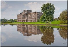 """Lyme Hall was used as Pemberley in the BBC's adaptation of """"Pride and Prejudice""""."""