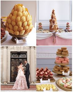 French pastry themed