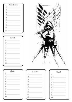School Schedule, Noragami, Deco, Anime, Fanart, Bullet Journal, How To Plan, Bracelets, Sweet