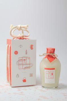 Minori Sake on Packaging Design Served