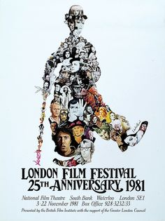 excellent collection of London Film Festival posters, 1957-2010