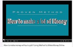 Are researching on how to make money without a job, well look no further than this video right here