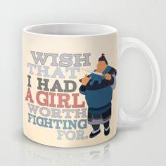 wish that i had a girl worth fighting for.. mulan, chen po Mug by studiomarshallarts - $15.00