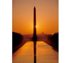 Constructed between 1848-1884, the Washington Monument (seen here at sunset) is an elegant exclamation point on the National Mall. The obelisk is currently closed for repairs until 2014.