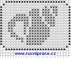 Marine world, fishs, free cross stitch patterns and charts - www.free-cross-stitch.rucniprace.cz