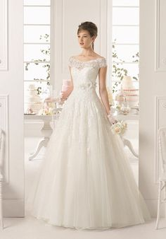 Aire Barcelona AYAMONTE Wedding Dress - The Knot