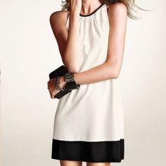 Victoria Secret pink/black shift dress Never worn NWOT Victoria's Secret Dresses
